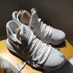 Nike Zoom Kevin Durrant White Chrome-Pure Platinum